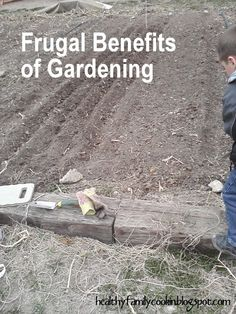 Healthy Family Cookin: Frugal Friday: Gardening