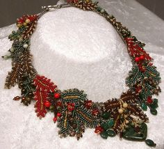 Bead Jewelry Necklace Iolani Princeville Collection.