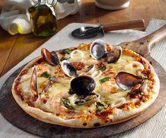 #Pizza aux #fruits de #mer