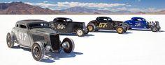 Photo gallery and race report from the 2013 Bonneville Speed Week, held August 10-16 on the famed Bonneville Speedway salt flats in Utah.