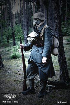 Steampunk German Soldier