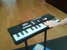 Piano goma eva