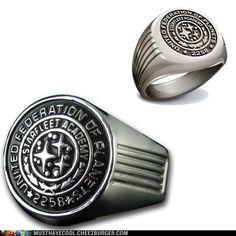 Star Trek Starfleet Academy Class Ring. WANT!!1!