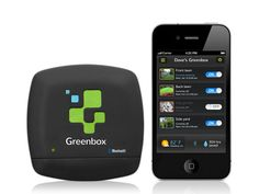 Greenbox - Smart Irrigation for Everyone by 22seeds, via Kickstarter.  A smart irrigation controller powered by your smartphone or tablet. Improve control, conserve water, save money.