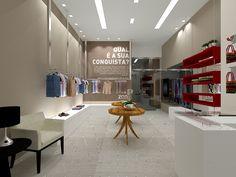 Loja roupas shopping