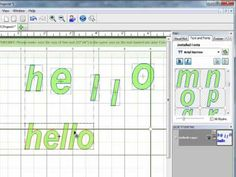 Learn to design your own word art in Make the Cut! using text and fonts.