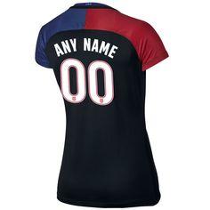2016/17 USA (#00) Customized Away Women's Soccer Jersey