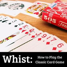Whist is a classic card game. This article explains how to play, some tactics and strategy and some of the many variations of the game. Family Card Games, Fun Card Games, Card Games For Kids, Playing Card Games, Craft Activities For Kids, Projects For Kids, Kids Crafts, Frozen Party Games, Olaf Party