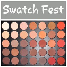 Ready…Set…Swatch Ready to get spammed with swatches of the new 35OM palette. It is the all matte version of the highly coveted and hyped up Morphe palette to hit the makeup realm ✌ I …
