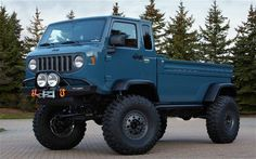The Jeep Mighty FC Concept: An Unrequited Love - Motor Trend Blog