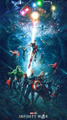 Infinity War': ¿Este póster es oficial o un increíble fan made? 'Vengadores: Infinity War': ¿Este póster es oficial o un increíble fan made?'Vengadores: Infinity War': ¿Este póster es oficial o un increíble fan made? Marvel Dc Comics, Marvel Avengers, Marvel Heroes, Avengers Team, Marvel Fan Art, Captain Marvel, Avengers Live, Poster Marvel, Avengers Fan Art
