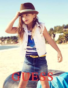 While You Were Sleeping: Anna Nicole Smith's Daughter Models for Guess, BuyMyCloset Launches, Plus More!