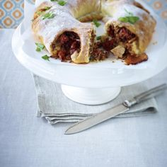 Tortano mit Tomatenhack und Mozzarella Rezept