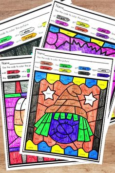 Teachers, looking for simple activities to give your students more practice with sight words? These no prep color by sight word worksheets for Halloween are a fun center or independent activity. Introducing your first grade word list (or giving a review) will be so easy with these awesome printables! Works for a whole group art activity or for first grade students to do as elementary reading homework. Your students will be so happy coloring they won't even realize they're learning.