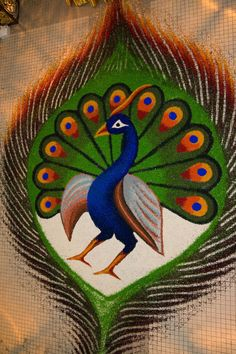 Making Rangoli designs at your house during any event is what everyone tries to achieve. Here are 75 simple rangoli designs for 2020 that are easy to make and will look the best with minimal efforts. Rangoli Designs Peacock, Indian Rangoli Designs, Rangoli Designs Latest, Simple Rangoli Designs Images, Rangoli Ideas, Rangoli Designs With Dots, Beautiful Rangoli Designs, Kolam Designs, Easy Rangoli Patterns