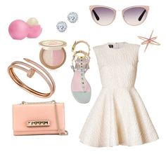 """🎀"" by ashulka ❤ liked on Polyvore featuring Eos, Too Faced Cosmetics, Kobelli, Tom Ford, Valentino, Cartier and Giambattista Valli"
