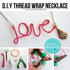 15 Amazing Diy Necklace Ideas