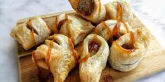 bladerdeeghapje: mini frikandelbroodjes - Knutselen in de Keuken