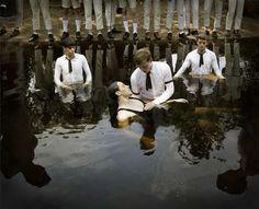 Anthony Goicolea Explores Religious Rituals in This Surreal Imagery #mensfashion #topfashiontrends