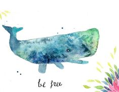 Day 24 for #the100daysproject #the100dayproject #100daysofcharacters #illustration #drawing #drawingchallenge #draweveryday #makeartthatsells #cbdrawaday #creativebug #watercolor #whale #whales #winsorandnewton #lettering