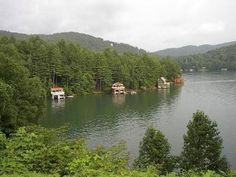 Lake Burton, GA -- probably My favorite place in the world. Several summers spent here and it is absolutely beautiful.