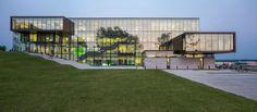 Escritório principal do Grupo Desjardins / ABCP architecture + Anne Carrier Architectes