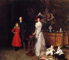 I used to imagine myself into his paintings, John Singer Sargent's Sitwell Family
