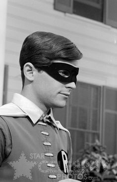 "Burt Ward. He was about 21 while filming ""Batman"" in the 1960s."