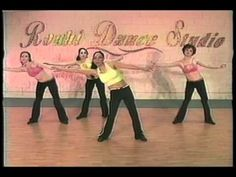 Belly Dance as a Work out, Show 2. Part 1 of 3 (Beginner )
