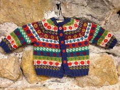 My first jacquard Knitting kit