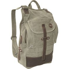"""Olive Green. OK, going for the """"man bag"""". The girlie backpacks are soooooo not right."""