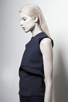 minimalist draping and architectural structuring. Martinez Lierah SS 2013