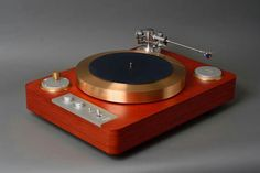 High end audio audiophile turntable