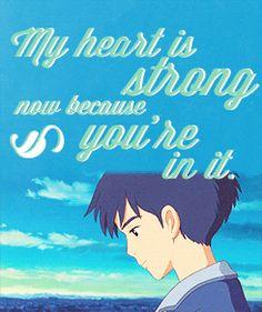☙ Compliments in Ghibli Films ~ Tales from Earthsea