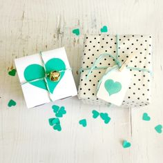 DIY gifts: Adorable wrapping via Lovely Clusters Wrapping Ideas, Present Wrapping, Creative Gift Wrapping, Creative Gifts, Craft Gifts, Diy Gifts, Handmade Gifts, Pretty Packaging, Gift Packaging