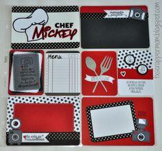 Tx Scrapper Mom - Chef Mickey Project Life Layout, Dilo en Espanol, Jaded…