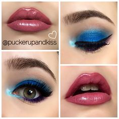 Ahumado en azul eléctrico, que me chifla! ♥️ #makeup #beautyblogger #blogger #makeupblogger #maquillaje #makeupaddict #makeuplover #eyeliner #lipstick #love #amor #makeupblog #ahumado #lookeyes #blue #blueeyes