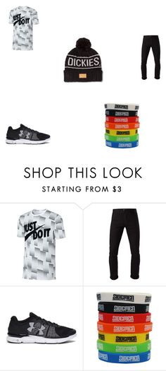 """""""Simon's Outfit (FF)"""" by sandypetersen313 ❤ liked on Polyvore featuring NIKE, 3x1, Under Armour, Dickies, mens, men, men's wear, mens wear, male e mens clothing"""