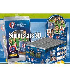 Panini EURO 2016 Superstars 3D Figuren, Stickerpoint