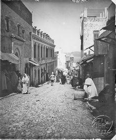 Antonio Cavilla Photographer: Tánger, Seágheen or Silversmith street.