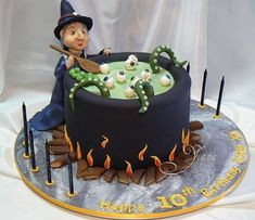 Halloween Cake TD between Yana's Cakes & Deliciously Decadent by Flickr Bake-Off Admin on Flickr