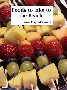 Heading to the Beach This Week?  Here are 5 Foods that are Perfect for the Beach
