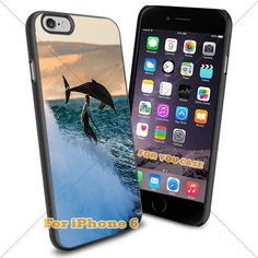 Animal : DolPhin Cute9 Cell Phone Iphone Case, For-You-Case Iphone 6 Silicone Case Cover NEW fashionable Unique Design