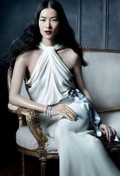 Liu Wen for Tiffany  Co's The Great Gatsby