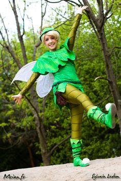 Tinkerbell Kostüm! Suuuper schön!