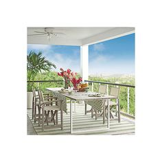 20 Outstanding Outdoor Dining Rooms ❤ liked on Polyvore featuring home, outdoors and outdoor decor