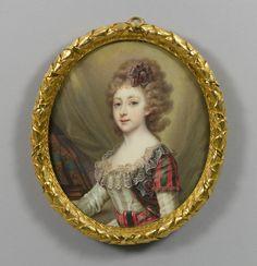 Russian School, 18th century - Princess Helena of Russia, Princess of Mecklenburg-Schwerin (1784-1803)