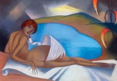 Sassy, Attila (also known Aiglon) 1880-1967 - Art Deco Léda, 1930s