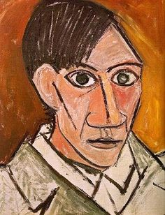 """Picasso """"Autoretrato"""" 1907 (Protocubismo)"""
