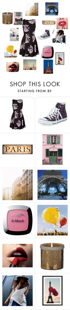 """""""In paris"""" by fashionforward-822 ❤ liked on Polyvore featuring Clinical Care Skin Solutions, La Maison, Dauphine, WALL, L'Oréal Paris, Yosemite Home Décor and Pottery Barn"""